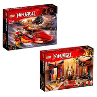 LEGO NINJAGOPaket Lego® Ninjago® Katana V11 + Throne Room Showdown