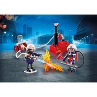 Playmobil, City Action - Brandmän med vattenpump