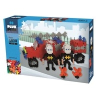 Plus Plus - Basic Firetruck and crew 480 pcs